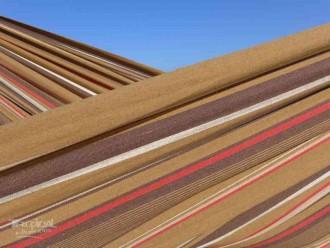 Hamac avec support couleur terre