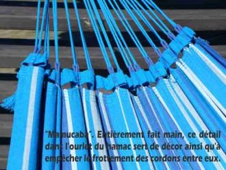 Hamac avec support bleu
