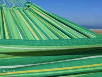 Hamac avec support XL vert