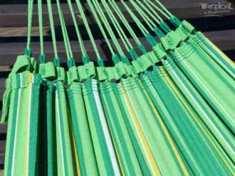 Hamac avec support XXL vert