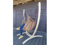 Chaise hamac brésil avec support