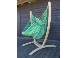 Chaise hamac  avec support bois