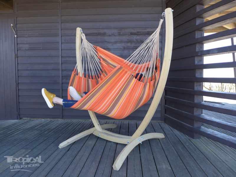 Chaise hamac avec support