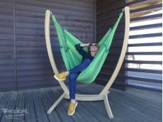 Chaise hamac avec support 3 Verdes