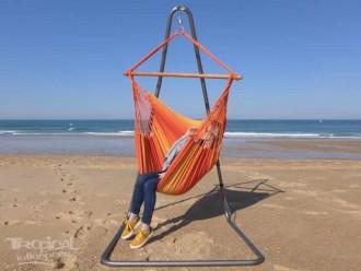 Chaise hamac avec support Soledad 3 Amarelhos
