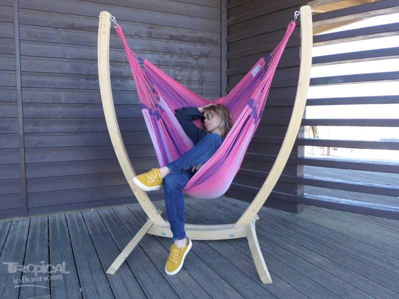 Hamac chaise avec support
