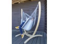 Hamac chaise sur pied gris