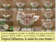 hamac sur pied rose