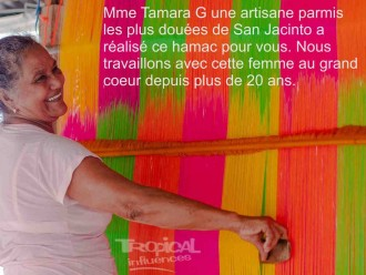 Hamac luxe colombien Moka Moka