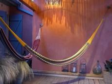 Hamac Akumal multicolor coton