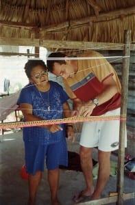 cours de tissage hamac méxicain