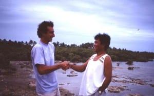 Frank Jouret & Nemesio Maluya, Cebu Philippines 1990