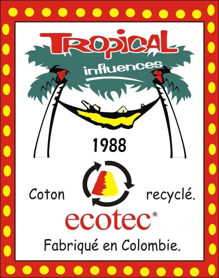 Tropical Influences coton recyclé