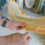 couture franges hamac