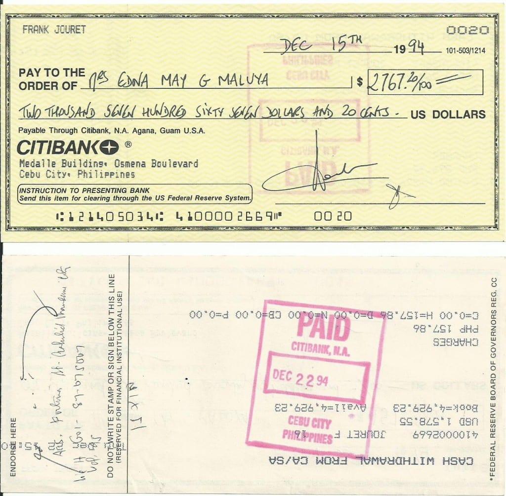 cheque-citibank
