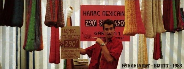 Frank jouret hamac en 1988