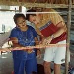 Cours de tissage Mexique