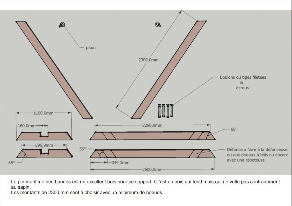 comment fabriquer un support de hamac soi m me tropical hamac. Black Bedroom Furniture Sets. Home Design Ideas