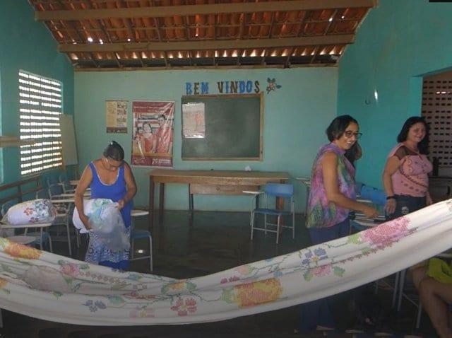 hamac point d'étoile - Aiuaba Brésil