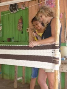 Fombaron Aline tissage hamac nicaragua